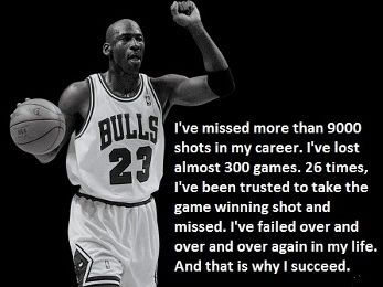 One of Michael Jordan's inspirational quotes to help you excel at ...
