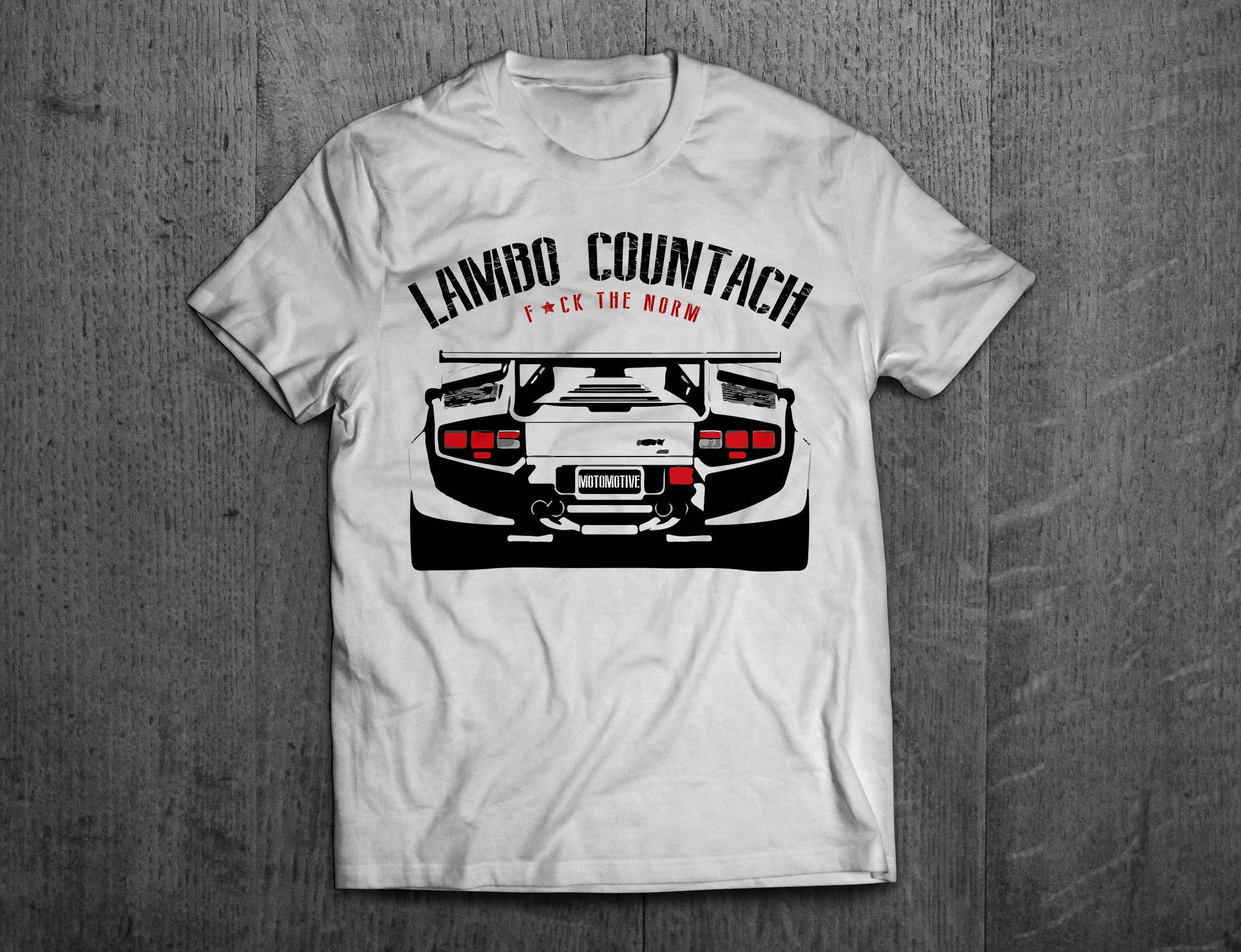 Delightful Lamborghini Shirts, Lamborghini Countach Shirts, Lambo T Shirts, Men Tshirts,  Women T