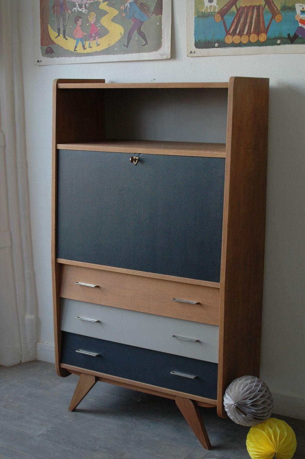 secr taire vintage recherche google diy pinterest loft furniture home renovation et. Black Bedroom Furniture Sets. Home Design Ideas