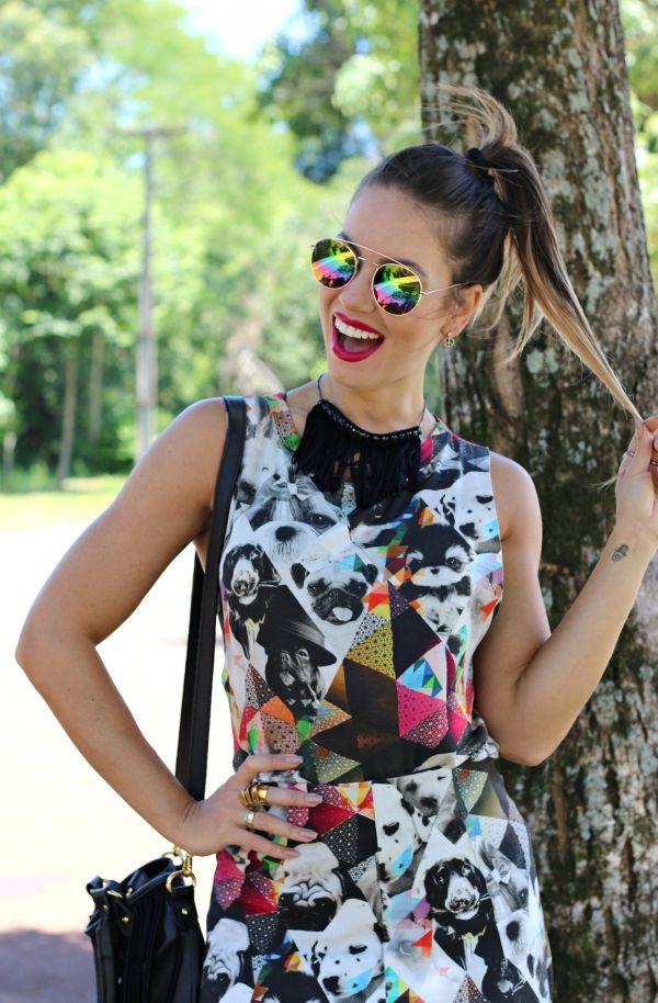 juliana goes   juliana goes blog   look do dia   blog de moda   inspiração de moda   look casual   blogueira de moda   dica de look   conjuntinho   moda verão   óculos espelhado   espektre   groovy   D.OZ   loja house santos