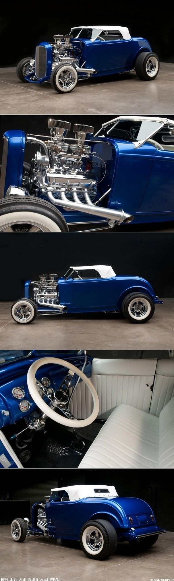 FORD HOT ROD CUSTOM ROADSTER / 1932 #fordclassiccars #hotrodclassiccars