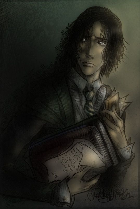 Whoa. This is a seriously good teen Severus.