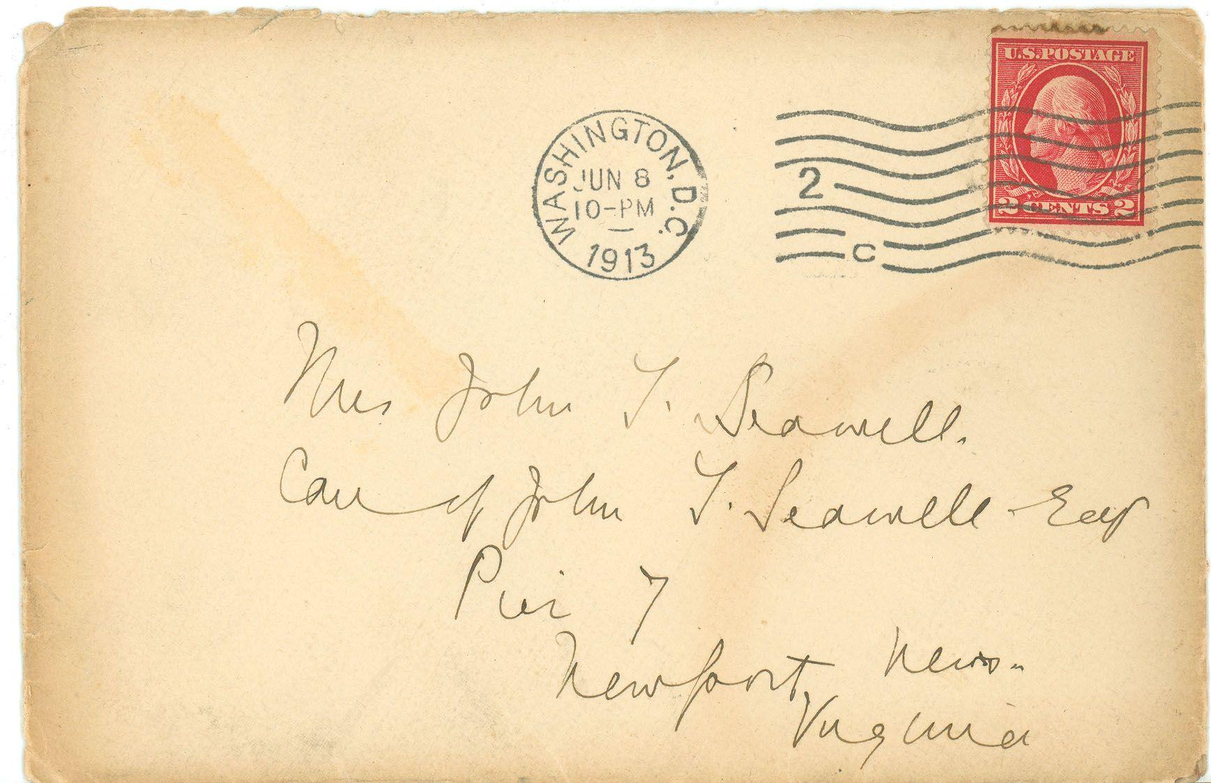Vintage Envelope Lettering Letter Writing Envelope