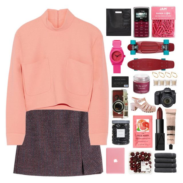 """""""HAPPY BIRTHDAY CHAR AND TERRY"""" by kristen-gregory-sexy-sports-babe ❤ liked on Polyvore featuring Carven, Issa, LG, Threshold, Eos, Leica, Linum Home Textiles, NARS Cosmetics, H&M and 3.1 Phillip Lim"""