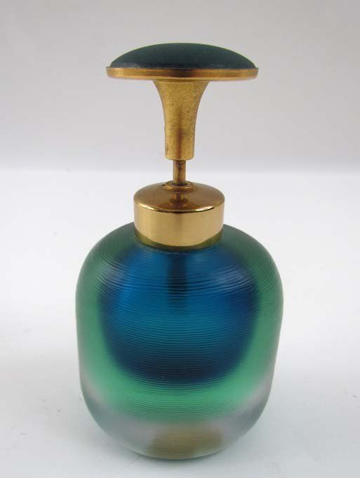 Mid-Century Modern Venini perfume bottle : Lot 534