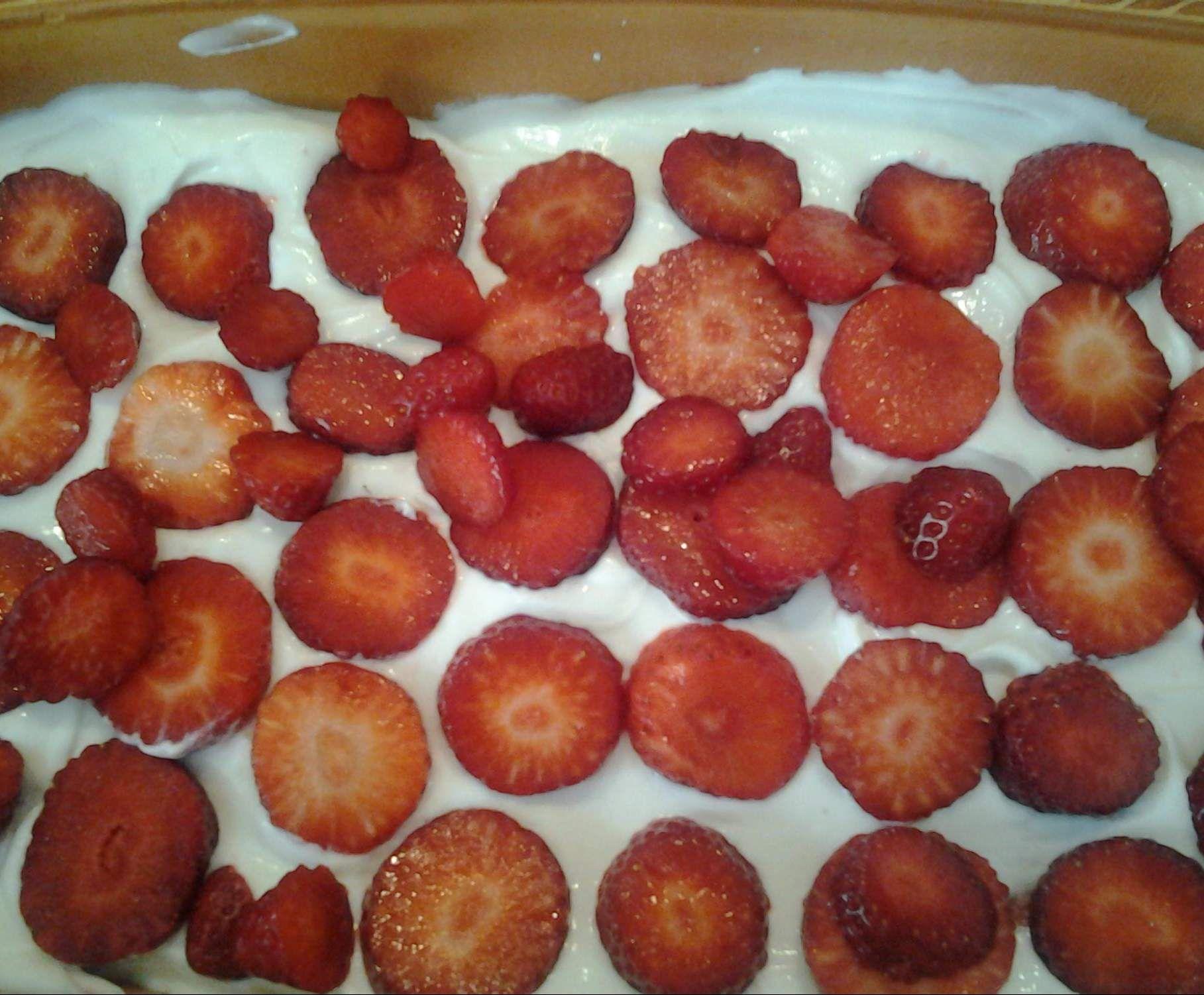 Erdbeer Tiramisu Die Leichte Variante Rezept Rezepte Dessert Rezepte Leichte Kost