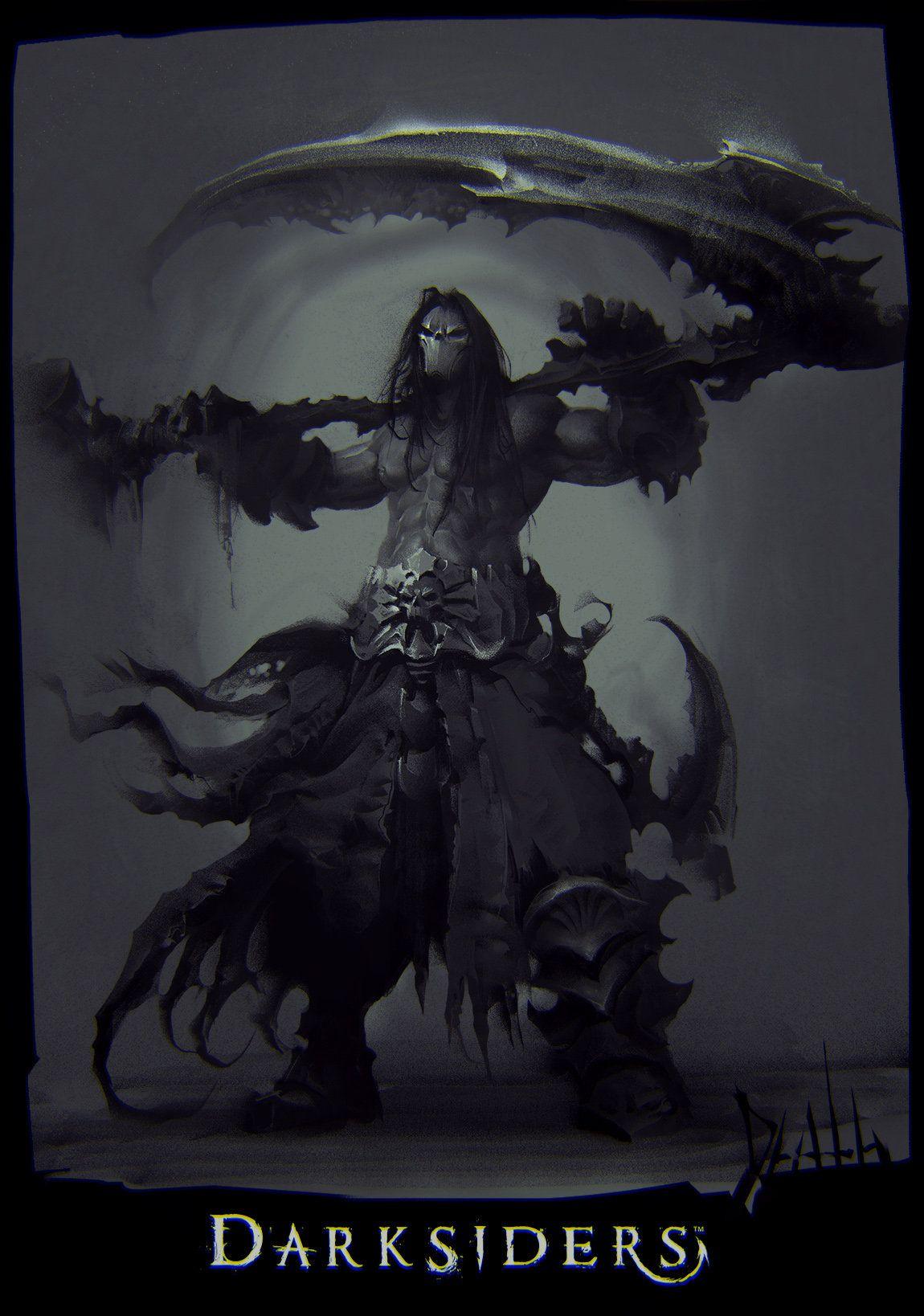ArtStation - Darksiders , Marat Ars