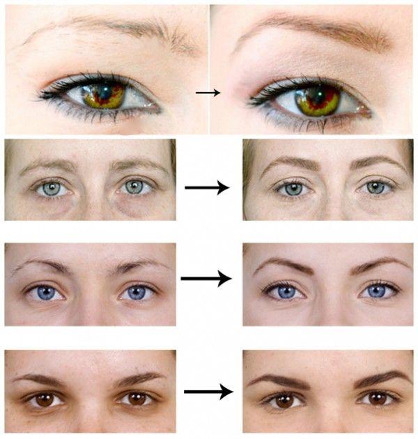 Exceptionnel sourcils avant apres | Astuces | Pinterest | Sourcils, Avant après  PB13