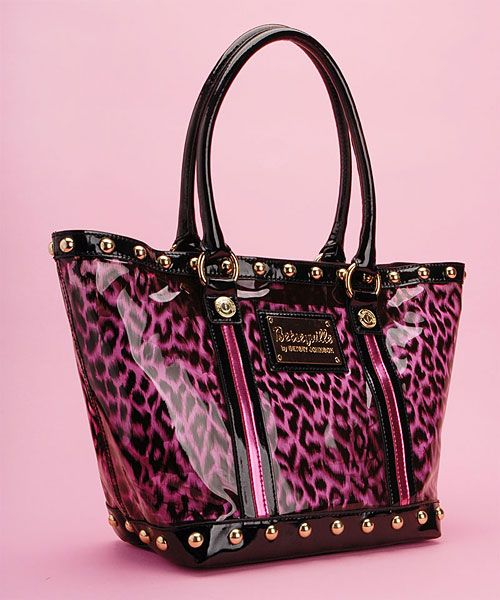 dd60c8082946 Love or Hate  Betseyville Cheetah Girl Tote By Betsey Johnson · Tote  PurseDesigner ...