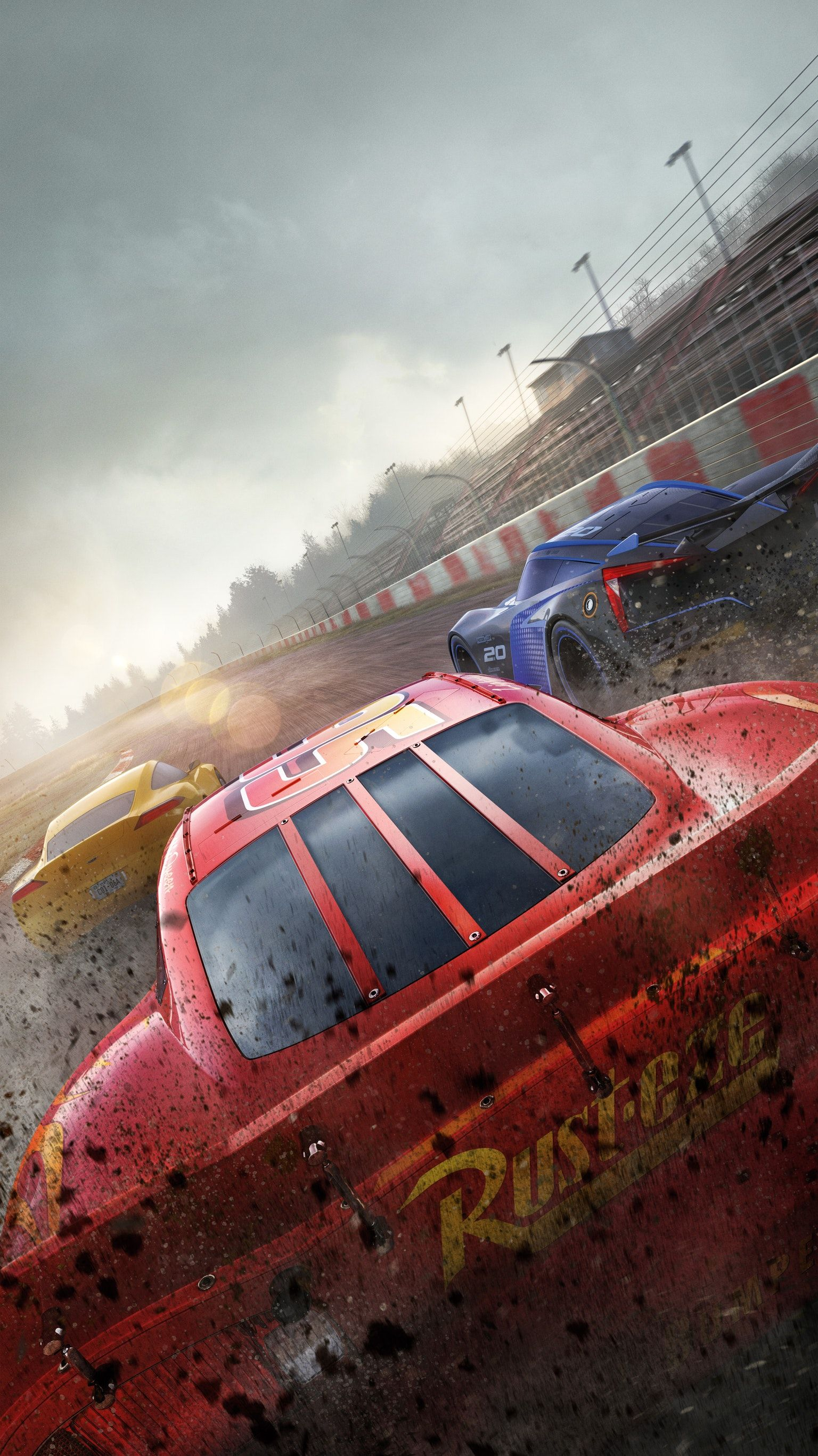 Cars 3 2017 Phone Wallpaper Fondos De Pantalla Digitales