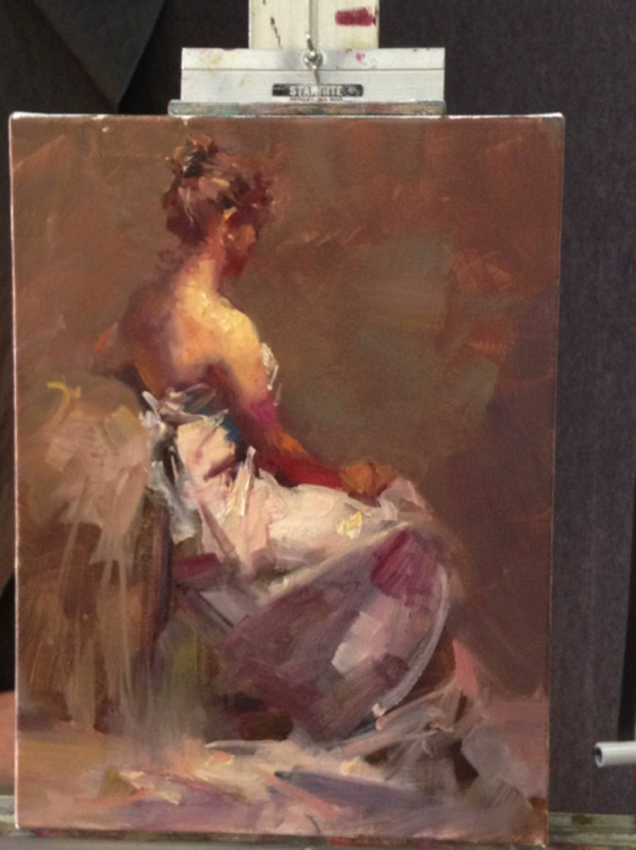 Zhaoming Wu Workshop: Painting the Luminous Figure