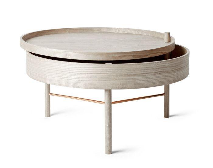 Stolek Turning Table od Menu White Oak