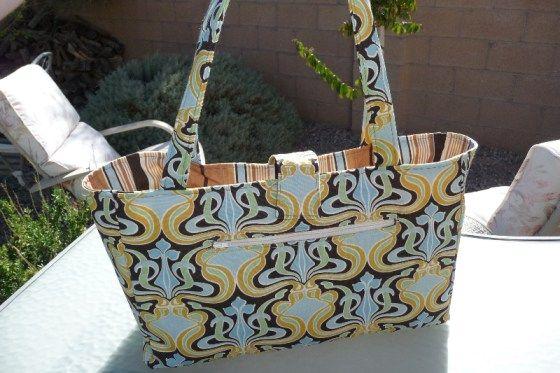 Book Bag Tutorial by Warehouse Fabrics
