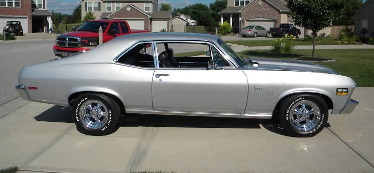 online store 57c5b 9adcd Example of Cortez Silver paint on a 1970 GM Nova | Chevrolet ...
