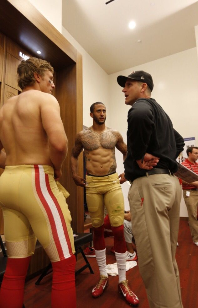 College guys locker room