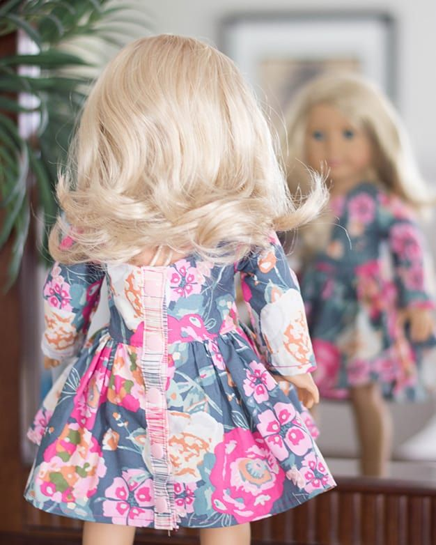 Dolly Helena. PDF sewing pattern for 14\