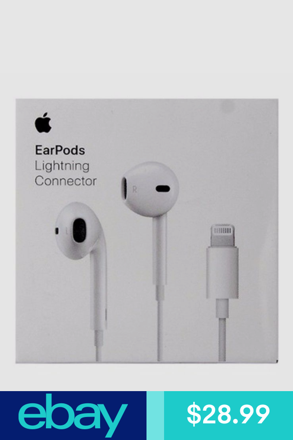 Apple Earpods With Lightning Connector White Mmtn2am A A1748 Cell Phone Accessories Apple Lightning