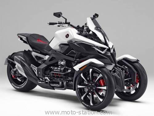 3 Roues Honda Hybride La Neowing Est Au Tokyo Motor Show Route Moto Triciclo Motos Honda Et Motocicletas Honda