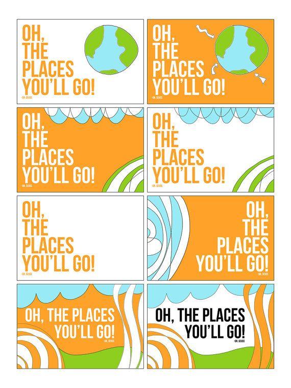 Dr Seuss Wall Art dr seuss wall art 3 oh the places you'll gowallcandydesign