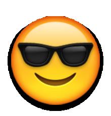 bon out x site web pour réduction toujours populaire visage souriant avec des lunettes de soleil | cool | Emoji ...