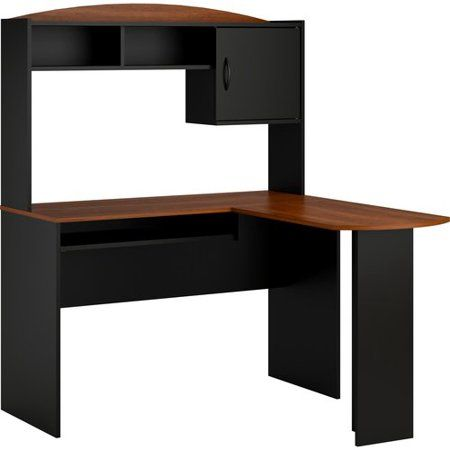 free 2 day shipping buy mainstays l shaped desk with hutch rh pinterest com