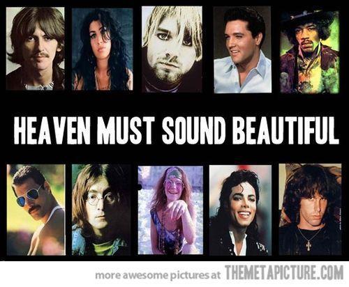 George Harrisonamy Winehousekurt Cobainelvis Presleyjimi Hendrixfreddie Mercuryjohn Lennonjanis Joplinmichael Jacksonjim Morrison