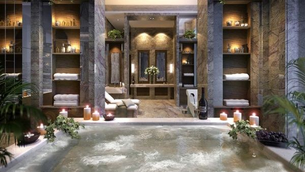 spa interior design   Bathroom   Pinterest   Spa interior, Spa ...