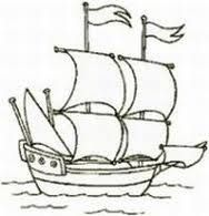 mayflower coloring pages for preschool - photo#23