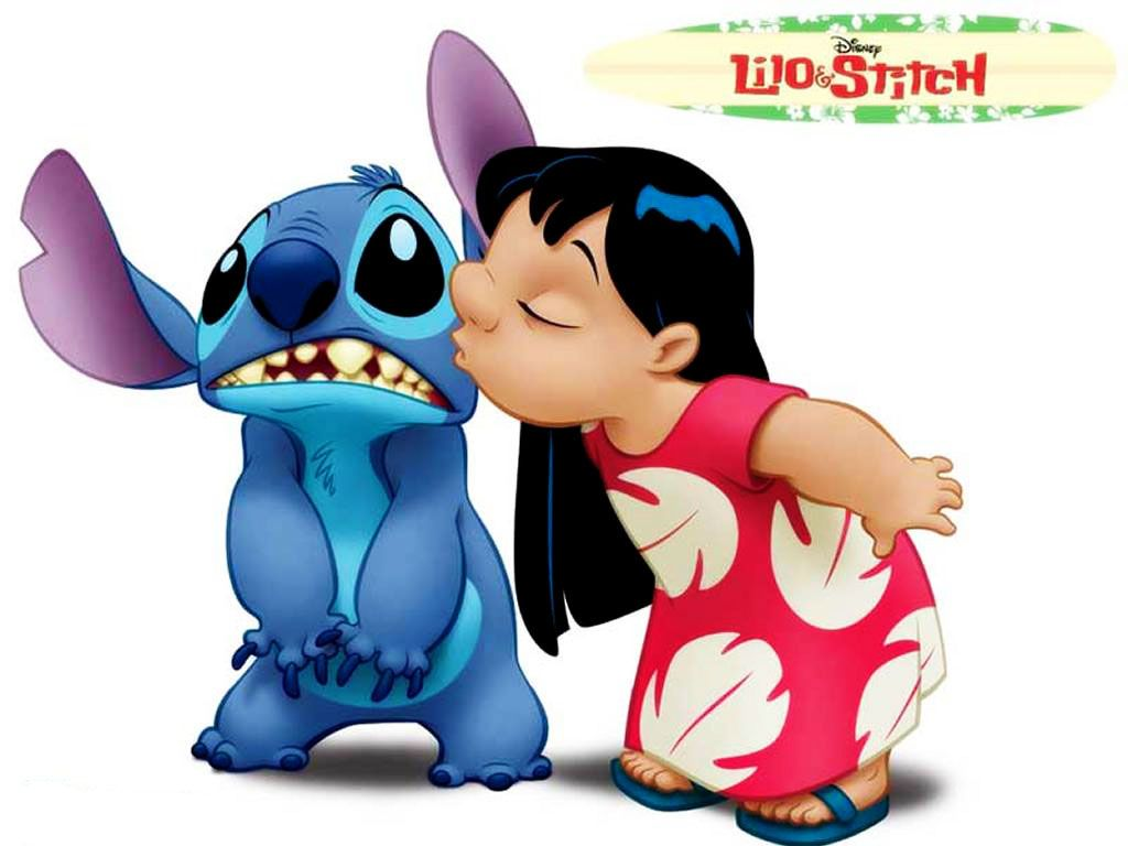 kiss = paralysis Lilo and Stitch   Good Stories   Pinterest