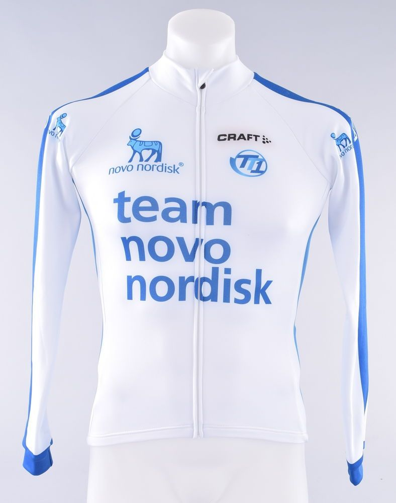 Novo Nordisk Pro Cycling Team Craft EBC Thermal Long Sleeve Jersey Men s XS 8bf870018