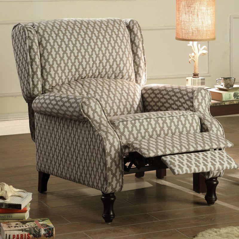 Evonna Manual Recliner Recliner With Ottoman Recliner Furniture