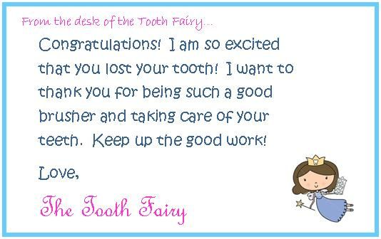 tooth fairy writing template - two magical moms a visit from the tooth fairy kid