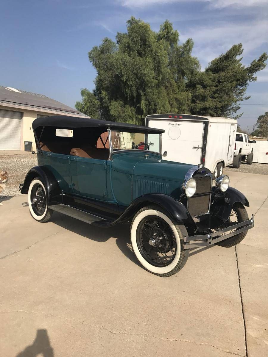 Riverside CA, $32,500 Firm: 1928 Ford Model A Phaeton for