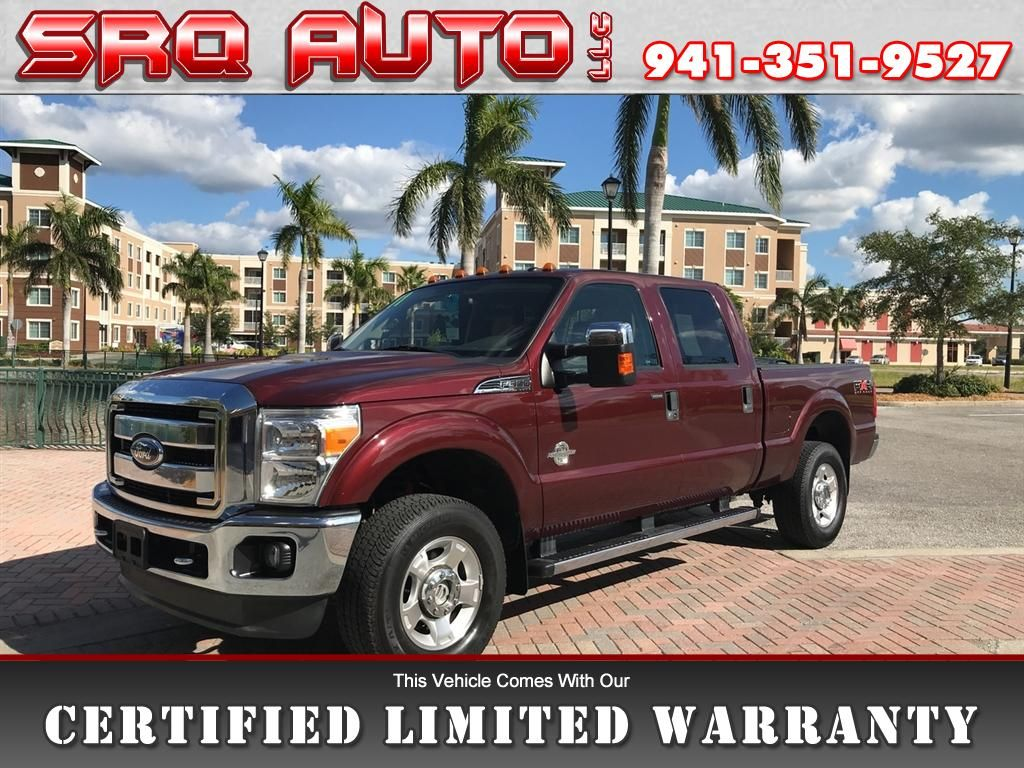 Used  Ford F  Sd Xlt Crew Cab Wd For Sale In Bradenton Fl
