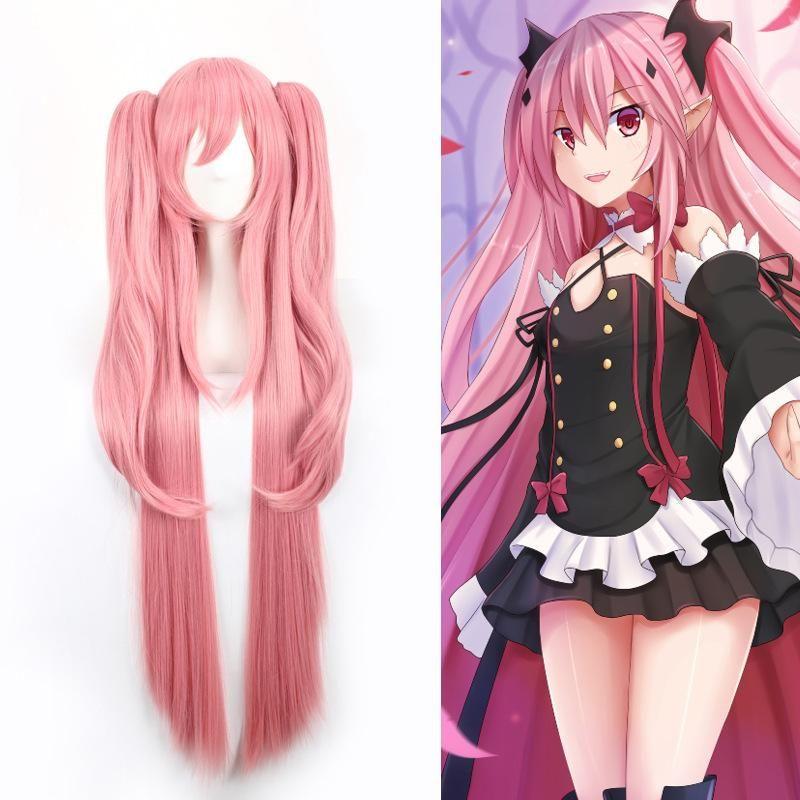Krul Tepes Japanese Cosplay Wig Se20213 Pink Wig Anime Wigs Cosplay Hair