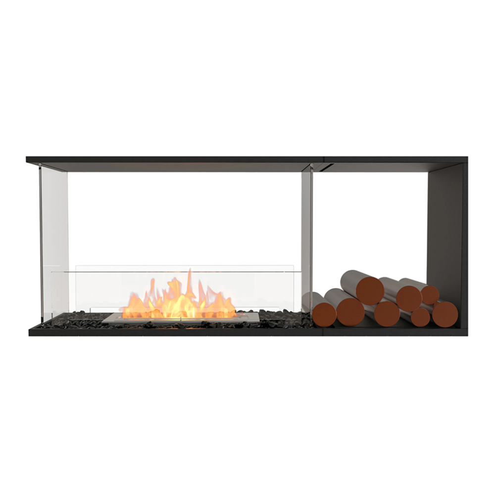 Ecosmart Fire Flex Peninsula Bioethanol Fireplace Insert In 2020 Fireplace Inserts Bioethanol Fireplace Fireplace