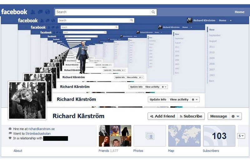 Creative Facebook Timeline With Images Facebook Cover Photos
