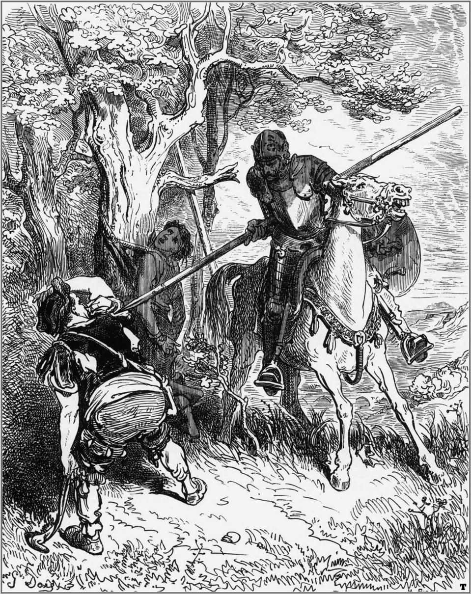An analysis of don quixote who wrote about the four hundred years ago