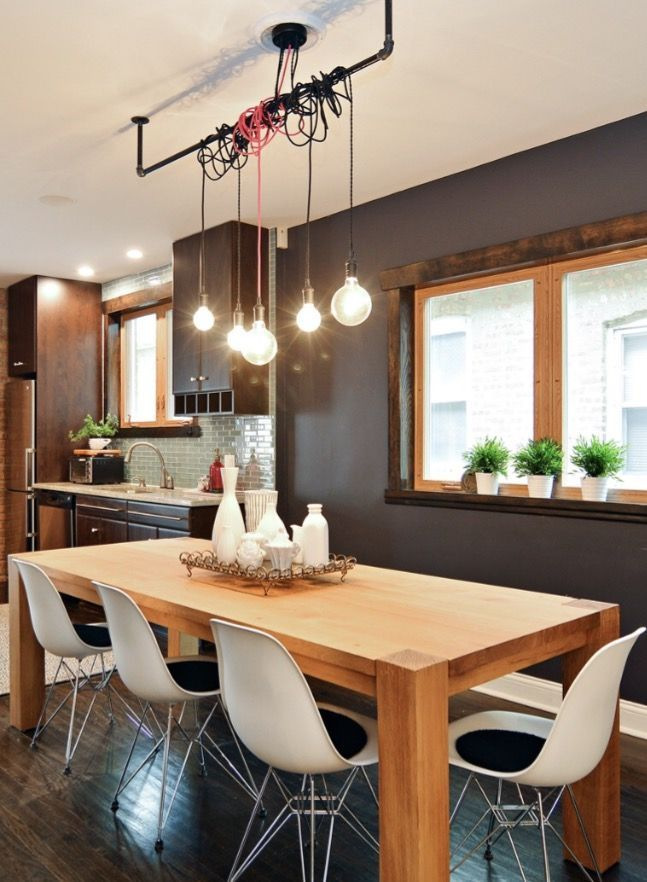 Pendant Lights, Industrial Dining Room Lighting