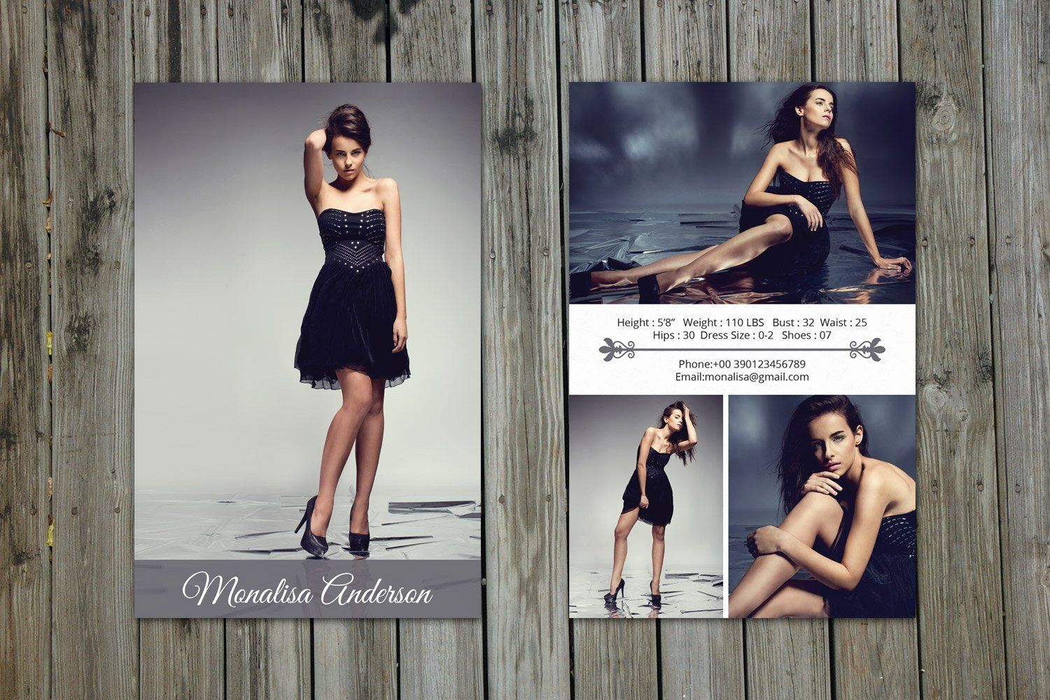 Comp Card Template Photoshop Awesome Modeling P Card Template Model P Card Shop Model Comp Card Card Templates Free Card Templates