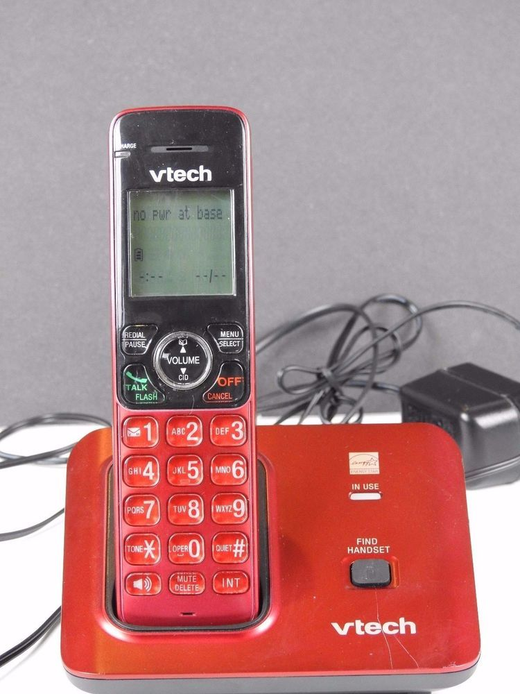 VTech CS6719 Cordless Phone with Caller ID//Call Waiting DECT 6.0