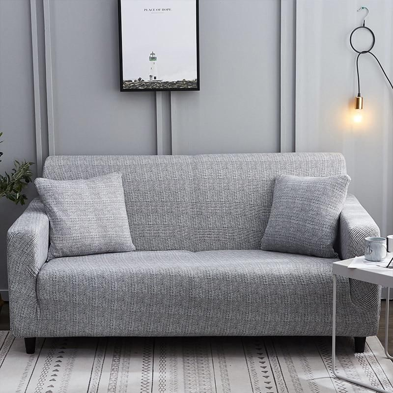 Pleasant Simple Weave Pattern Elastic Sofa Couch Cover In 2019 Sofa Pdpeps Interior Chair Design Pdpepsorg