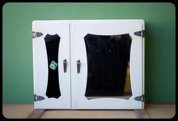 Armoire Old Bathroom Medicine Cabinet Furniture Wood Doors - Master bathroom medicine cabinets