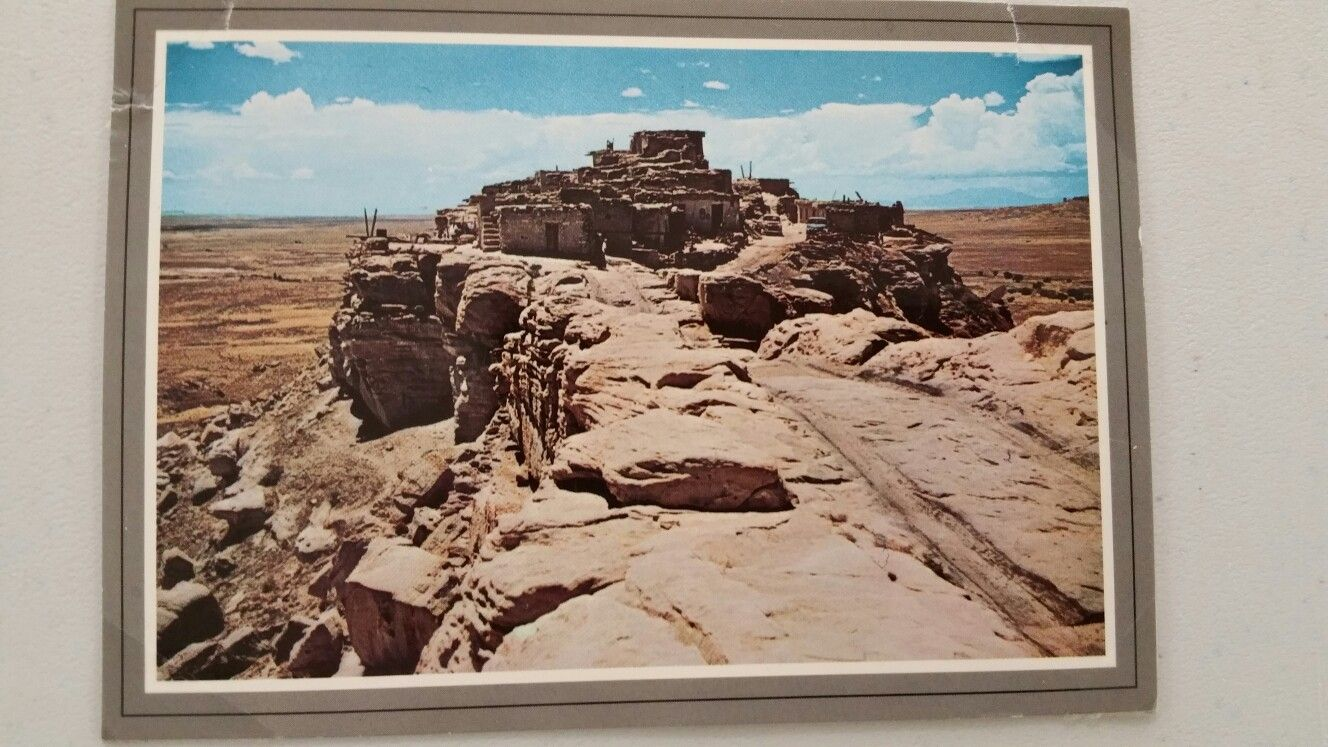 Walpi Hopi Village postcard from 80s or 90s.