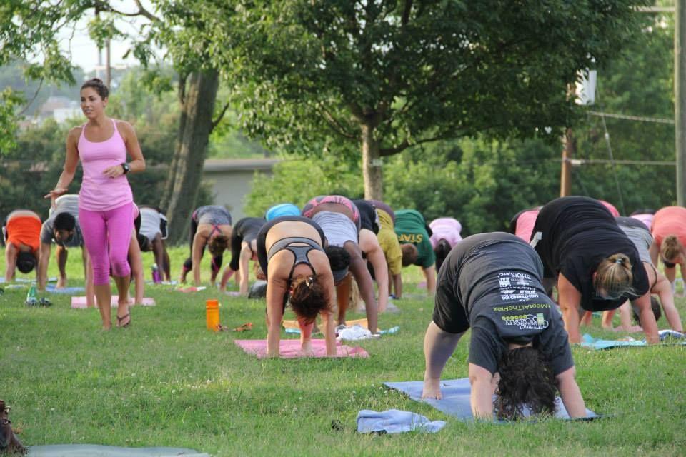 Free yoga at centennial park free yoga classes free