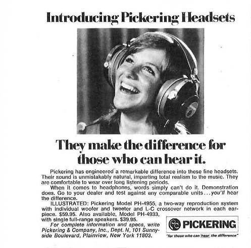 1972 Pickering ad #vintageads #Ads #vintage #PrintAd # ...