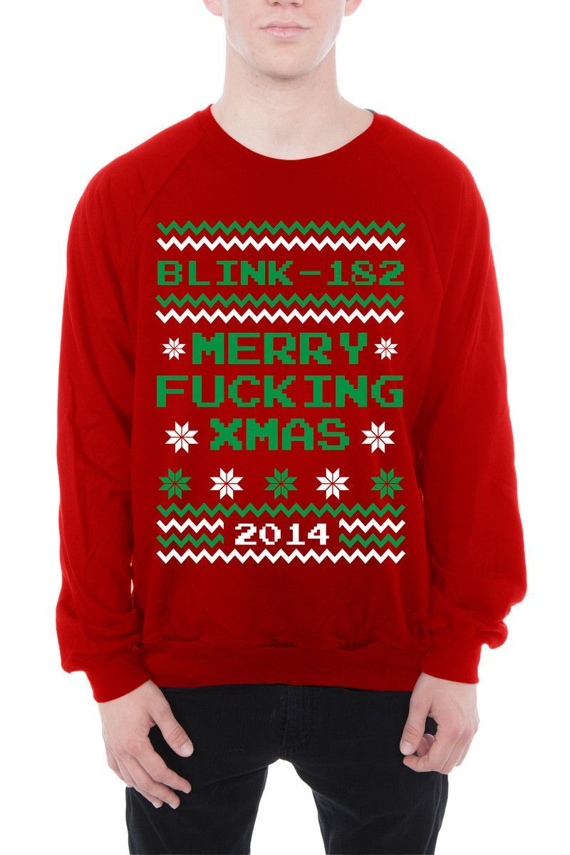 2014 Merry Fing Xmas From Blink 182 Merch In 2018 Badly Drawn Tshirt Short Circuit Mens Buy Online At Grindstore