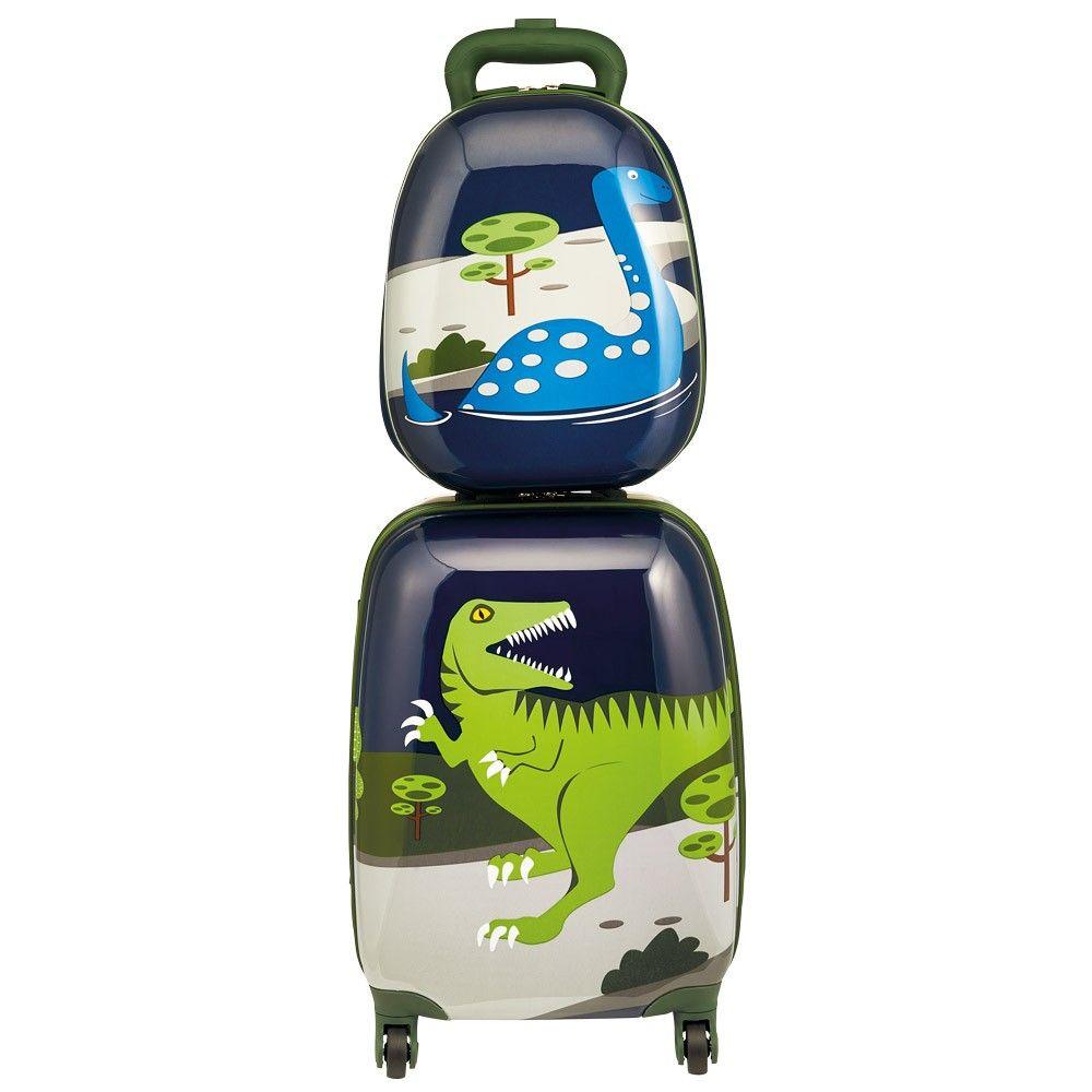 Bobble Art Dinosaur Hard-Shell Luggage Set | Bobble Art Shop ...