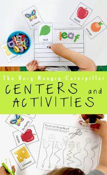 Photo of Hungry Caterpillar Kindergarten *CENTERS and ACTIVITIES*