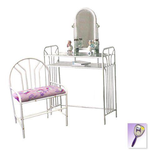 Metal Finish Make Up Vanity Table